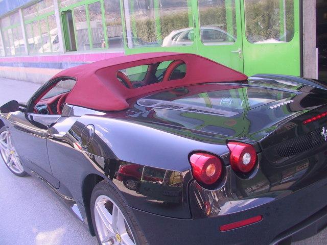 Remplacement capote Ferrari F 430